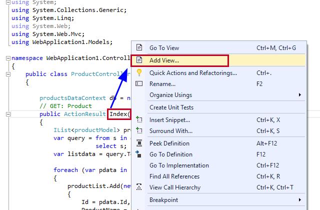 LINQ (C#) – Insert Update Delete using LINQ and SQL Classes