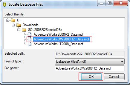 attach database 3