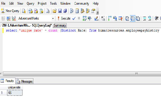 function count() example