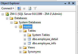 employee-detail table