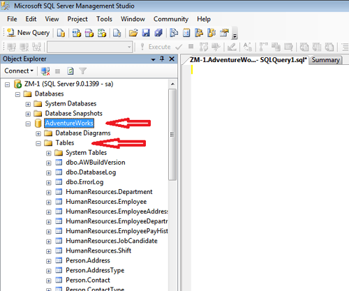 attach database 4