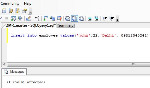 insert example 1