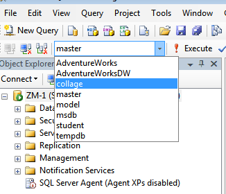 database name has changed