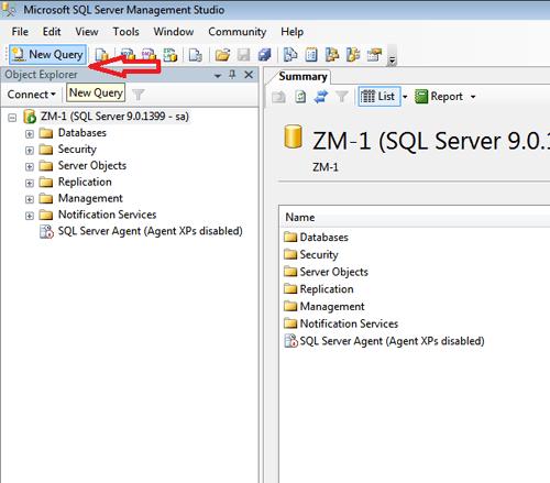 attach database 2