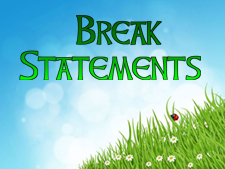 break-statements