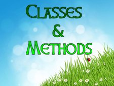 classes-methods