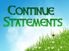 continue-statements
