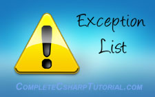 exception-list
