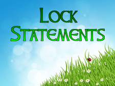 lock-statements