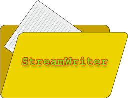 StreamWriter