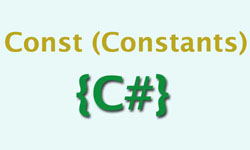 C# – How to Use Const in Inheritance