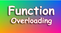 Function Overloading Tutorial C# with Programming Example