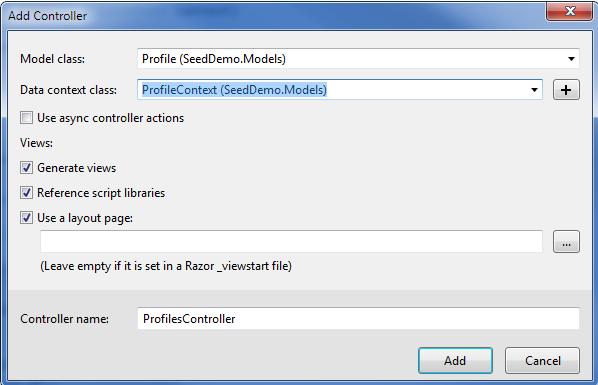 Add-Sdaffolded-Controller